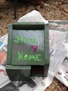 This is the world's best bird house! It's so delightful and welcoming! The bird will surely love it:) -Made by July Paw